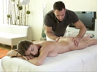 Erotic massage therapy with..