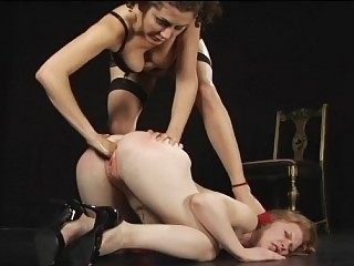 Hardcore fetish with two..