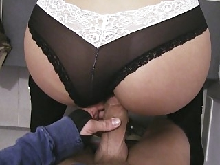 Big Butt Teenager Banged..
