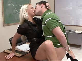 Sexy teacher loves student..