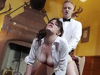 Euro student gets fucked in..