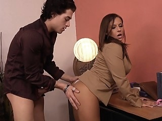 Fucking my boss Mrs. Madison..