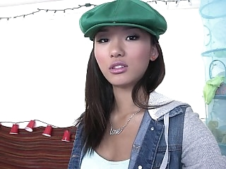 Cute Asian teen Alina Li..