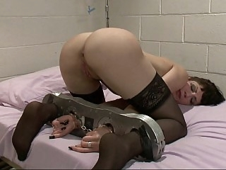 Mercilessly in hard bondage