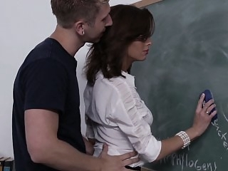Fucking his teachers good &..