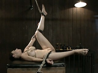 Submissive Annika getting..